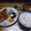 居酒屋 藤 - 料理写真:ランチ とり唐揚げ定食500円