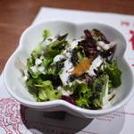 神戸牛 吉祥吉 - Aセットのサラダ