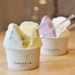 ジェラテリア シンチェリータ - 料理写真:2種盛り