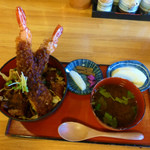 歳 - 料理写真:清須ワングランプリ出展料理・二太刀(にたち)どんぶり