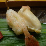 Fukuzushi - えび、北寄貝