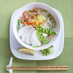cafeハンモックトライブ - 蒸し鶏とたっぷり野菜のフォー 800円