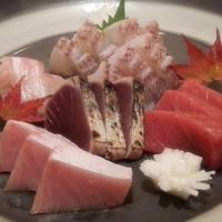 咲膳 横井 - お祝い用の刺し盛り