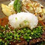 ビストロ鉄彩 - 辛味噌おろしハンバーグ(850円)
