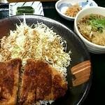 車山高原スカイプラザ - 料理写真:信州ソースカツ丼