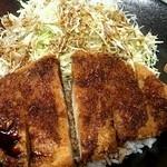 車山高原スカイプラザ - ソースカツ丼