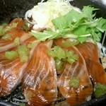車山高原スカイプラザ - 信州サーモン丼