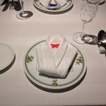 リストランティーノ ルベロ - テーブルセッティング