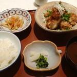 北新地 むろ多 - 2013.11鶏アチャラ揚げ定食