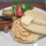 マーゴ - 料理写真:サワードーパンケーキ