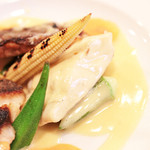 Bistrot Enry. - メイン:本日入荷の鮮魚料理 黒鯛の白ワイン蒸し '13 10月下旬