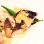 Bistrot Enry. - メイン:本日入荷の鮮魚料理 メジナのポワレ '13 10月下旬