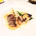 Bistrot Enry. - メイン:本日入荷の鮮魚料理 メジナ・メバル・黒鯛 '13 10月下旬