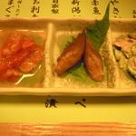 鳥清 - 前菜