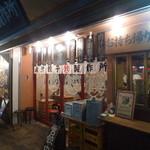 肉汁餃子製作所 - こちらは夜の店舗外観
