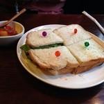 音凪 - オイルサーディンとクリームチーズのサンド