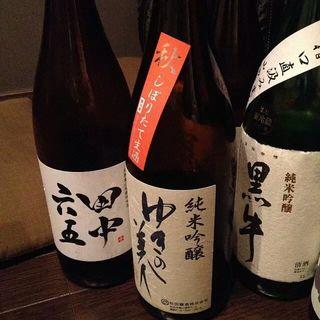 魚んと - 日本酒いろいろ