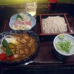 22316493 - 【2013年09月】カレー丼セット@680円。