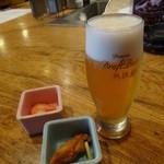 魚可祝 - アサヒ・プレミアムドラフトビール熟撰