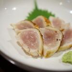 鳥長 - 胸肉たたき(炙り)