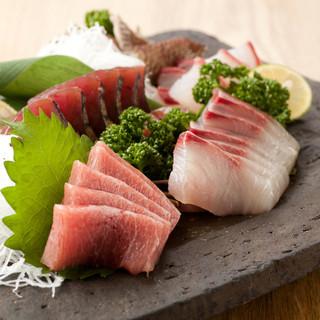 日本海の鮮魚を味わいませんか♪