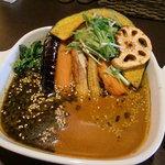 スープカレー oh!Range オレンジ - とろとろチキンと野菜
