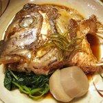 美々卯 - 鯛かぶと煮