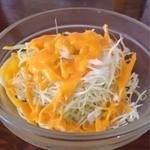 シバ - ランチのサラダ(≧∀≦)ノ