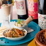 ワイン屋cincin - 「ミラクル女子会コース」でワインをたっぷり満喫