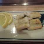 福寿司 - 穴子白焼き
