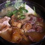 美菜ガルテンふるかわ - きのこ鍋(季節限定)