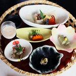美菜ガルテンふるかわ - ランチコース(前菜)