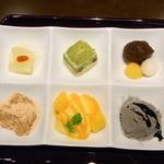 日本料理 つる家  - 六果選¥1260♪ 「六歌仙」のモジリですね☆