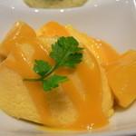 日本料理 つる家  - 気に入った順に、①マンゴームース♪