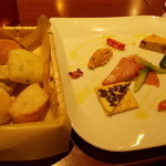 Rosso - 五種盛りとパン