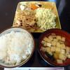 定食 串揚げ でみ - 料理写真:豚肉生姜焼き定食