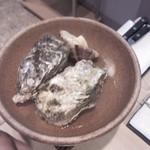 うつみ - 牡蠣とあさりの酒蒸し