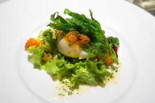 ボナ・フェスタ - ホタテ貝のバター焼き(2013年11月撮影)