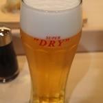 札幌シーフーズ - 生ビール