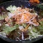焼肉だるま - 大盛りサラダ