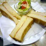 喫茶ハト - ハムチーズトースト