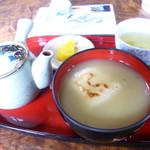 茶房 ゑびや - 栗あんしるこ