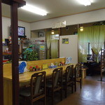 喜楽食堂 - 改装した店内