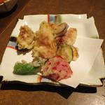 22335461 - いちじくの天ぷら