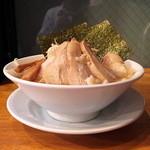 フジヤマ55 - 濃厚ラーメン全部のせ(2013年9月30日)