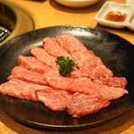 焼肉問屋 牛蔵 - 2013.11 ざぶとん(1,029円)2人前