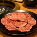 焼肉問屋 牛蔵 - 2013.11 ちまき(504円)2人前、スネのあたり