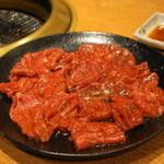 焼肉問屋 牛蔵 - 2013.11 ロース(504円)2人前