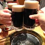 焼肉問屋 牛蔵 - 黒毛和牛にはやっぱり黒生が好き