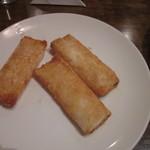 菊華飲茶館 - 海老の紙包み揚げ